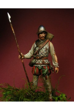 75004, 75mm, Spanish Infantry, Mexico, 1521