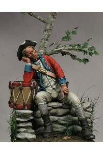 75006 CONTINENTAL ARMY DRUMMER